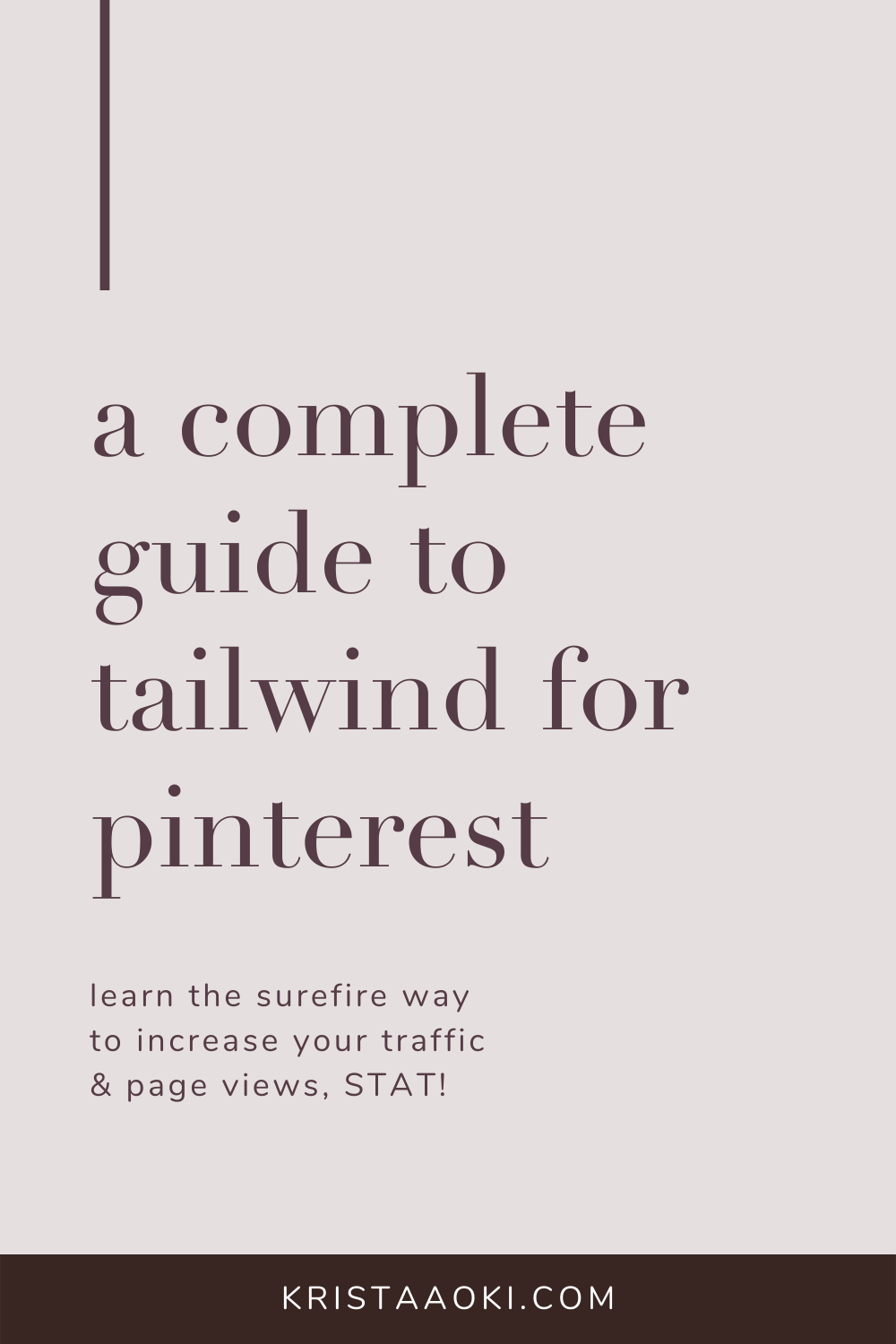 Read these tips on how to use Tailwind for Pinterest marketing for your small business blog. Whether you're looking for a tutorial on how to use Tailwind to grow your blog traffic, or looking for Tribes to join to increase your Pinterest presence... you'll love this guide with a strategy guaranteed to grow your blog traffic.